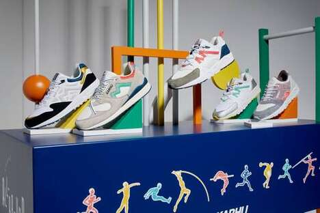 Olympic-Themed Running Shoes
