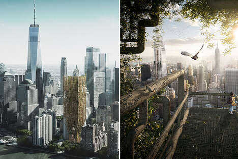 Genetically Modified Tree Skyscrapers