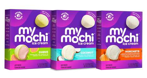 Globally Inspired Mochi Snacks