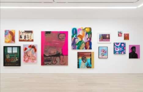 Uncurated Modern Art Galleries