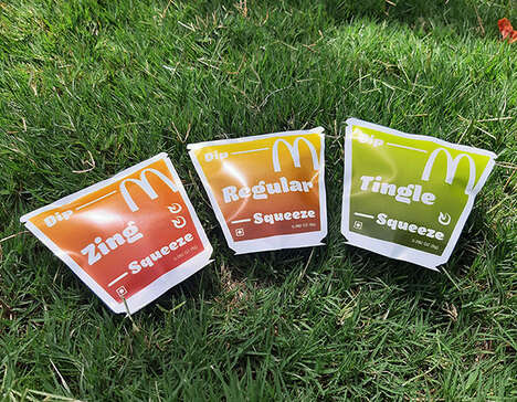 Pouch-Style QSR Sauce Packets