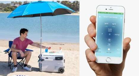 Solar-Powered Ice-Free Coolers