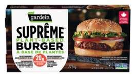 High-Protein Plant-Based Burgers