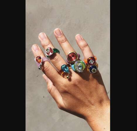 Resin-Made Jewelry Collections