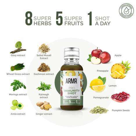 Immune-Boosting Ready-to-Drink Shots