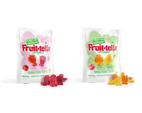 Fruit Puree Gummy Candies