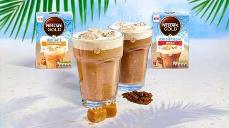 Easy-to-Prepare Iced Coffees