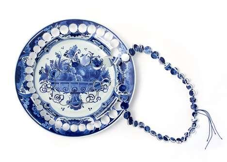 Repurposed Ceramic Jewelry