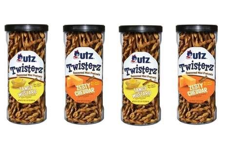 Flavor-Blasted Pretzel Twists