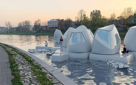 3D-Printed Low-Impact Floating Offices