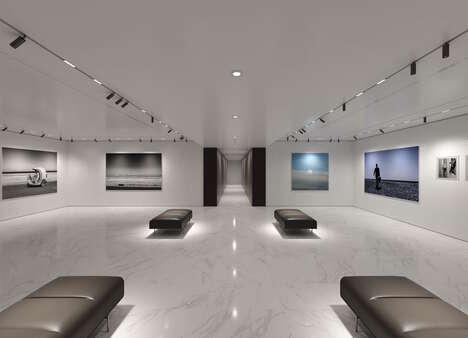 Luxury Car-Branded Art Galleries