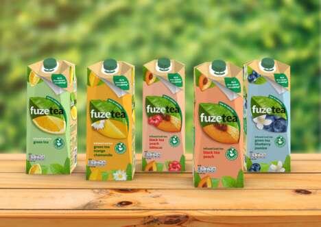Eco-Friendly Iced Tea Cartons