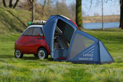 Tiny Car Camping Systems
