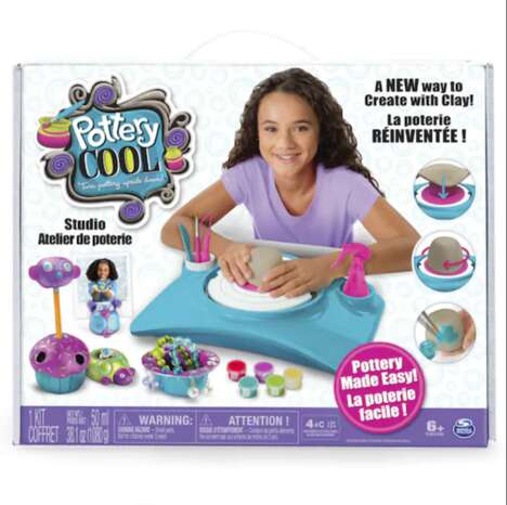 Kid-Friendly Amateur Pottery Kits