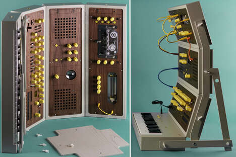 Portable Folding Synthesizers