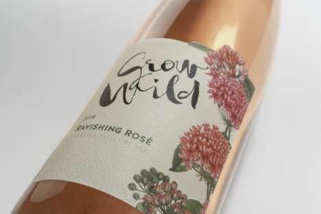 Wild Strawberry Rosé Wines