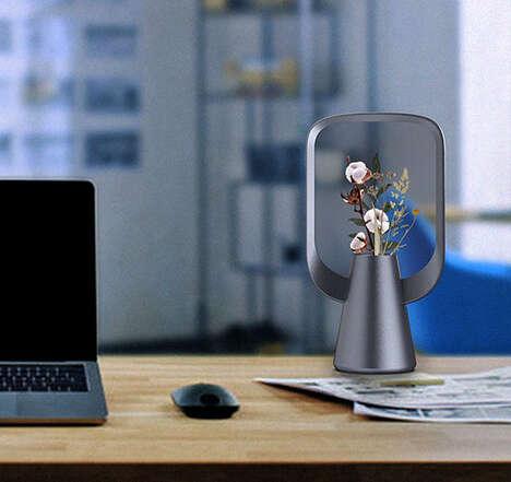 Decorative Virtual Plant Vases