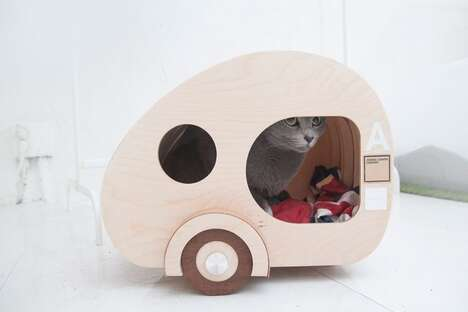 Pet-Sized Camping Trailer Houses