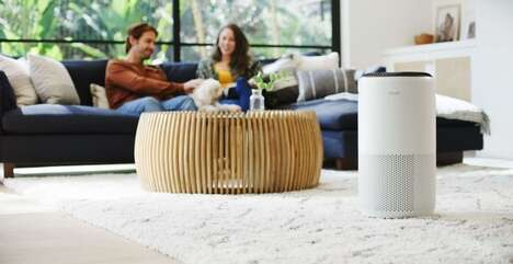 Real-Time Monitoring Air Purifiers