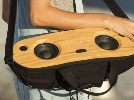 Eco-Friendly Portable Audio Systems