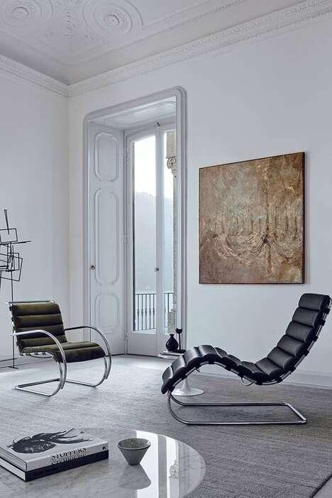 Sleek Tubular Steel Furniture