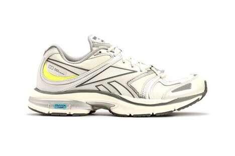 Minimal Layering Running Sneakers