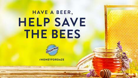 Bee-Supporting Beer Campaigns