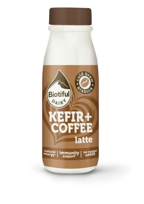 Caffeinated Kefir Drinks
