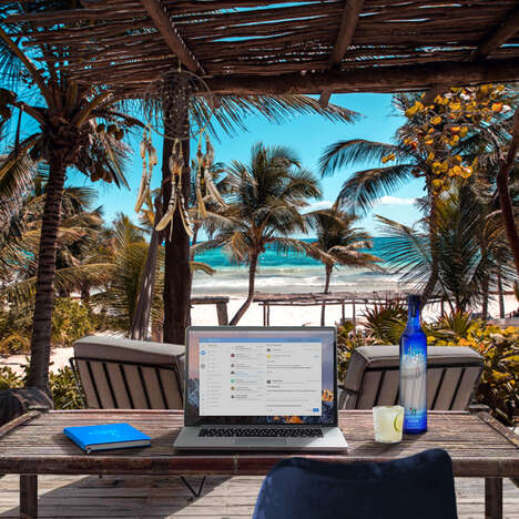 Tequila-Branded Remote Work Trips