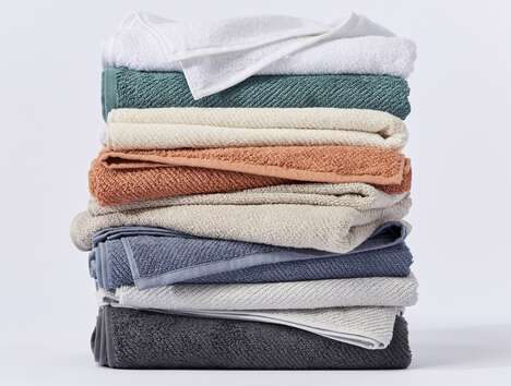 Opulent Organic Twill Towels