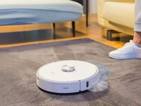 Self-Emptying Robot Vacuums