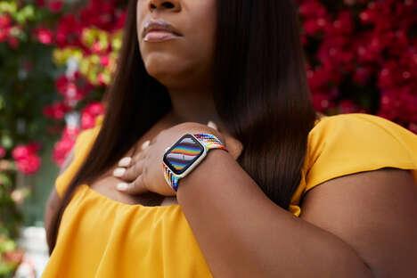 All-Inclusive LGBTQ+ Smartwatch Straps