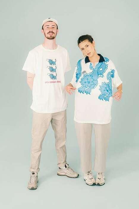 Upcycled Vibrant Sporty Garments