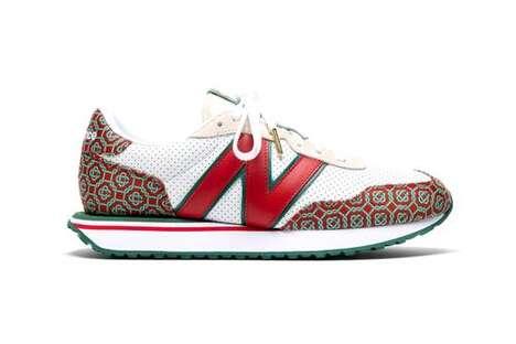 Summer-Ready Patterning Footwear