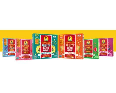 Summery Raisin Fruit Snacks