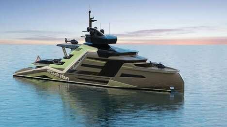 Eco-Friendly Explorer Superyachts