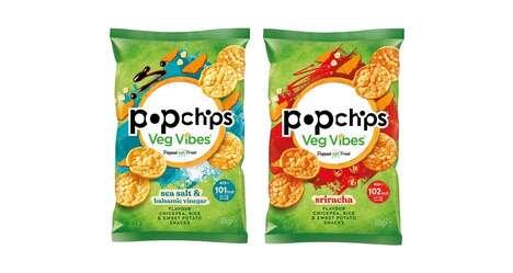 Popped Vegetable-Based Snacks
