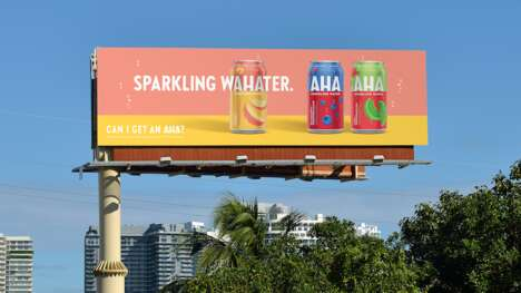Inaugural Sparkling Water Campaigns