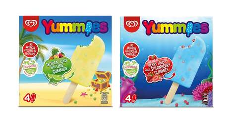 Thoughtfully Formulated Ice Lollies