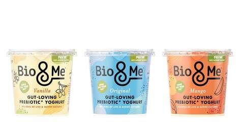 All-Natural Prebiotic Yogurts