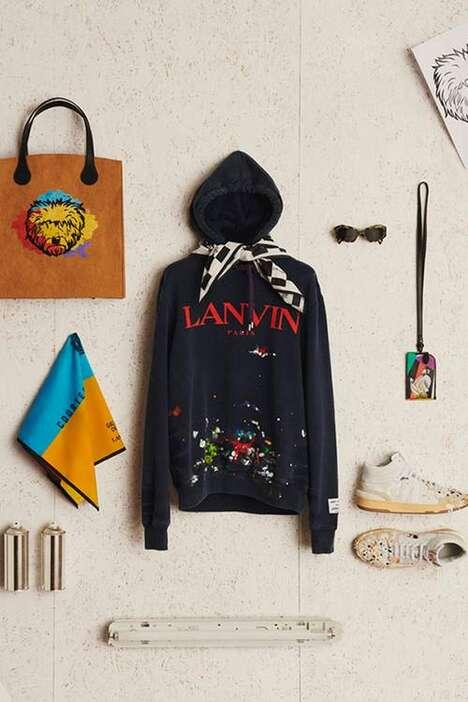 Artfully Dyed Fashion Garments