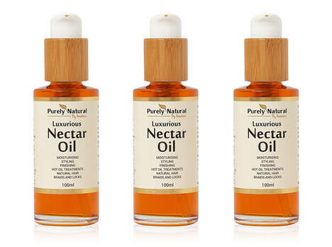 Deep-Conditioning Curly Hair Oils