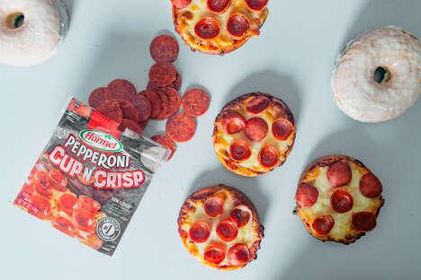 Cheesy Pepperoni Donuts