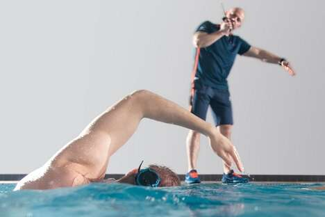 Swimmer Training Communication Systems