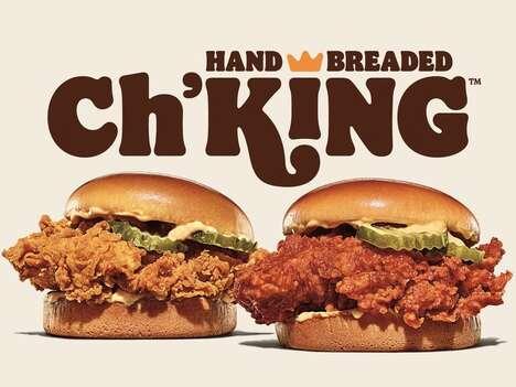 Hearty Potato Bun Chicken Burgers