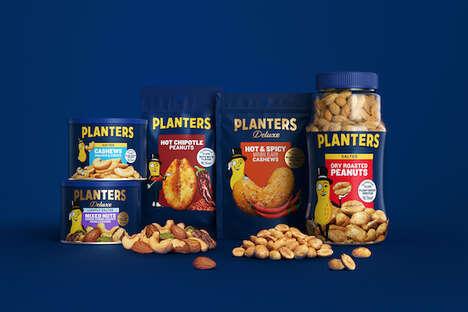 Sophisticated Peanut Packaging