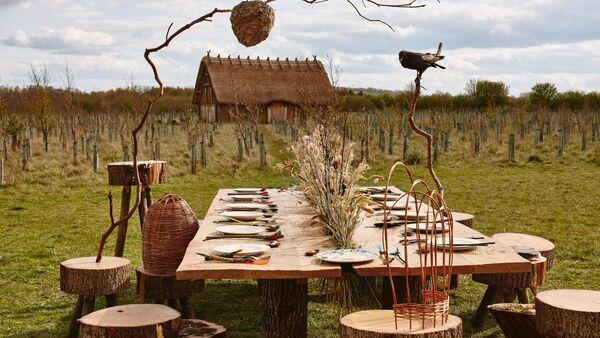 Eco-Awareness Banquet Tables