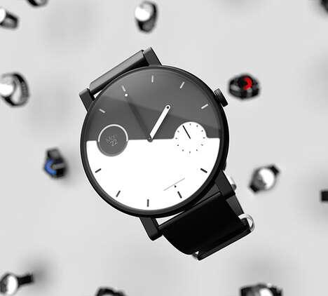 Hybrid Connected eInk Timepieces