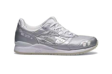 Stark Metallic Contrasting Sneakers