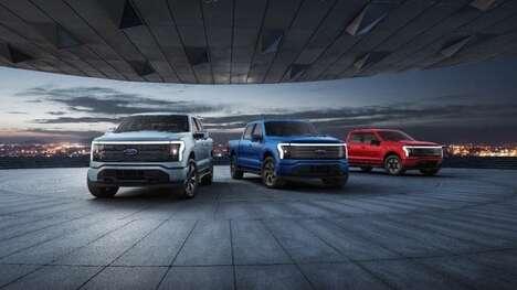 Powerful Electric-Powered Pickup Trucks